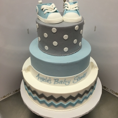 Baby Sneakers Cake