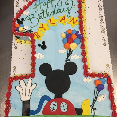 Mickey Mouse Playhouse #1 Cake
