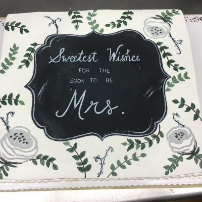 Sweetest Wishes for the Soon to be Mrs.