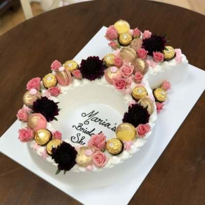 Sculpted Ring Cake